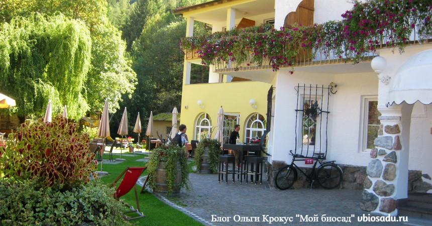 Ресторанчик в Южном Тироле, Италия, Фото